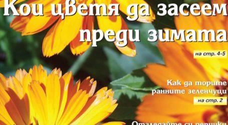 Вестник за градината, бр. 45