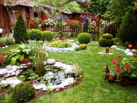 Десет съвета за оформяне на градински кът